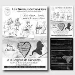 Tréteaux de Survilliers – Communication 2016